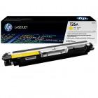 Заправка картриджа HP CE312A